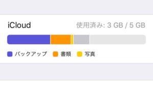 Apple「iCloudストレージの空き容量が、残り25%しかありません」