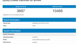 【悲報】Snapdragon 855のベンチマーク、iPhone XのA11に追いつけない