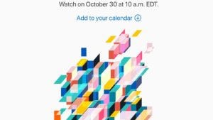 【Apple】アップル、新型iPad Proや低価格MacBookを発表か 10月30日にイベント開催を告知